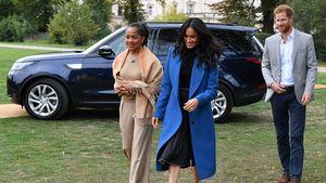 Während Prinz Harry weg ist: Mutter Doria unterstützt Meghan