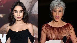 Wahlkampf-Aerobic: Vanessa Hudgens trainiert mit Jane Fonda