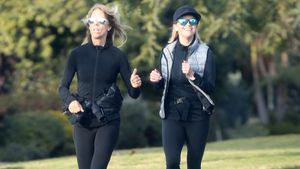 Sport-Fan? So sehr strahlt Reese Witherspoon beim Joggen