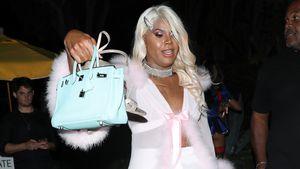 EJ Johnson kommt als Paris Hilton zu Paris' eigener Party