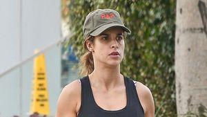 George Clooneys Ex Elisabetta Canalis ungeschminkt unterwegs