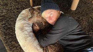 Mit ihrem Hund: Ellen DeGeneres meldet sich aus Quarantäne