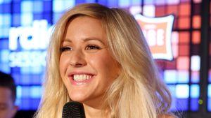 Ellie Goulding verpackt ihren Babybauch in Schlabber-Hoodie