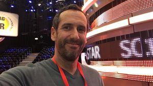 "Elmar Paulke im ""Schlag den Star""-Studio"