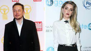 Doch ein Paar? Amber Heard & Elon Musk bei Date erwischt