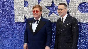"""Total gerührt: Elton John weinte bei """"Rocketman""""-Premiere"""