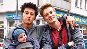 Daddy-Vibes: Netflix-Hottie Emilio Sakraya posiert mit Baby