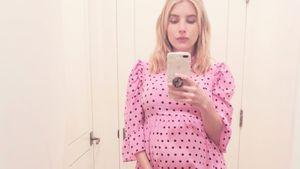 Emma Roberts' Babybauch ist jetzt nicht mehr zu übersehen!