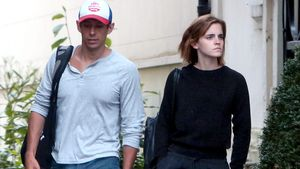 Emma Watson mit William Mack Knight in London