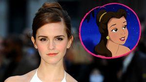 """Emma Watson und Belle aus """"Die Schöne und das Biest"""""""