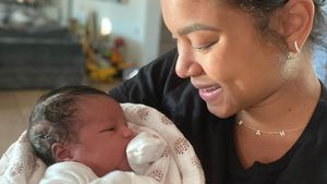 Putzig: Kevin Harts Frau Eniko teilt erstes Foto ihres Babys
