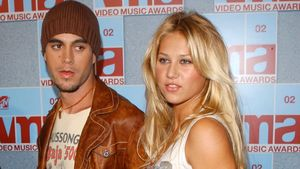 Enrique Iglesias und Ex-Tennis-Star Anna Kournikova 2002 in New York