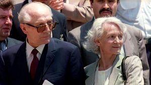 Erich Honeker und seine Frau Margot
