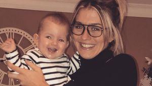 Strahlemäuse! Estavana feiert 1. Silvester mit Baby Jesslynn