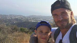 Schon 15! So süß gratulieren die Beckham-Eltern ihrem Romeo
