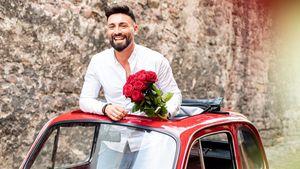 Spieß umgedreht: Bachelorette-Fabiano als Herr der Rosen