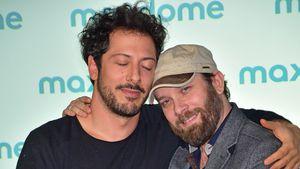 """Fahri Yardim und Christian Ulmen bei einer Veranstaltung zu ihrer Comedy-Serie """"Jerks"""" in Berlin"""