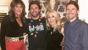 Caitlyn Jenner, Brody Jenner, Brandon Jenner und Linda Thompson