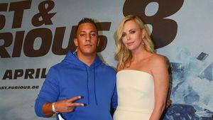 """Farid Bang und Charlize Theron auf der Premiere von """"Fast & Furious 8"""""""
