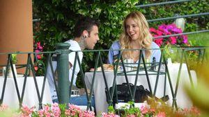 Turtelfotos: Chiara Ferragni schmachtet Ehemann Fedez an
