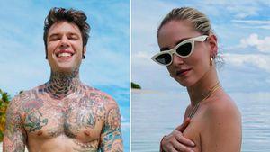 So heiß! Fedez & Chiara Ferragni posieren nackt im Urlaub