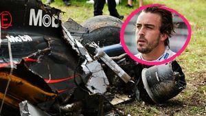 Formel-1-Star Fernando Alonso: Horror-Crash bei Tempo 300!