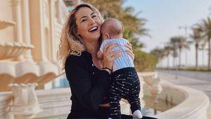 Strenge Mama? So erzieht Fiona Erdmann ihren Sohn Leo Luan