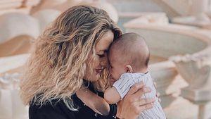 Schon fünf Monate: Fiona Erdmann ist stolz auf Söhnchen Leo