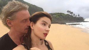 Frank Otto und Nathalie Volk im Urlaub auf Hawaii