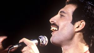 Queen-Sänger Freddie Mercury