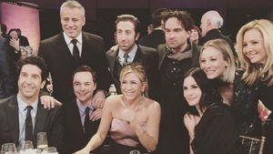 """Hier treffen die """"Friends""""-Stars auf """"Big Bang Theory""""!"""