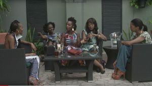 "Esosa E,  Maame Adjei, MaameYaa Boafo, Nana Mensah, Marie Humbert in ""An African City"""