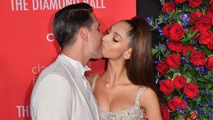 Bissige Küsse: G-Eazy und neue Freundin bei Diamond Ball