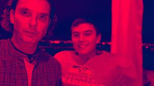 Gavin teilt Dad-Sohn-Pic: So groß ist Kingston Rossdale (13)