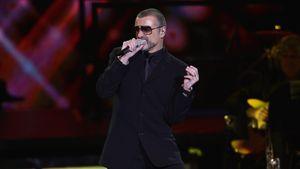 George Michael bei einem Konzert in Italien