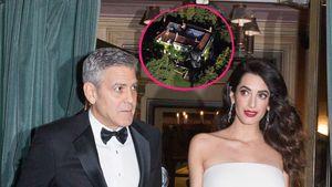 George und Amal Clooney mit ihrem Anwesen