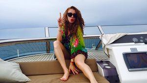 Georgina Fleur auf Ibiza