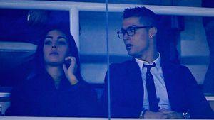 Georgina Rodriguez und Cristiano Ronaldo in Madrid