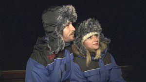 So romantisch waren Gerald & Annas Flitterwochen in Lappland