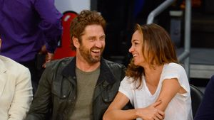 Gerard Butler mit Morgan Brown
