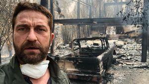 Auch Gerard Butlers Haus durch Waldbrand in Schutt und Asche