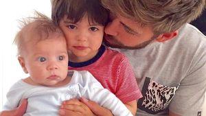 Im Vaterglück! Stolzer Gerard Piqué zeigt seine zwei Jungs