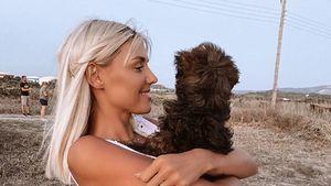 """""""Babylove"""": Gerda Lewis hat einen kleinen Hund adoptiert"""