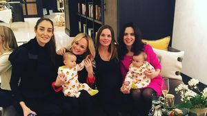 "Mini-""Spice Girls""-Reunion! Geri Halliwell feiert Baby-Party"