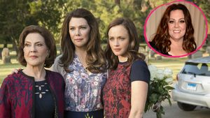 Kelly Bishop, Lauren Graham, Alexis Bledel und Melissa McCarthy