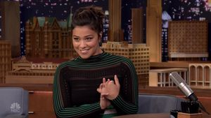 Gina Rodriguez bei NBC's 'The Tonight Show Starring Jimmy Fallon.'