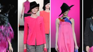 Mailand Fashion Week: Bei Armani knallt's