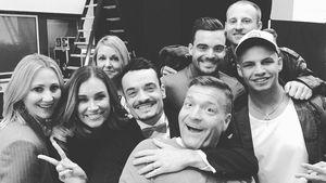 Giovanni Zarella mit Freunden und Familienmitgliedern