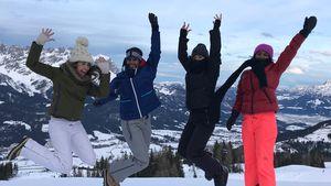 Spaß im Schnee: Grace Capristo & Sara Nuru im Girls-Urlaub!