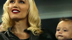 Gwen Stefani macht ersten VIP-Ausflug mit Apollo